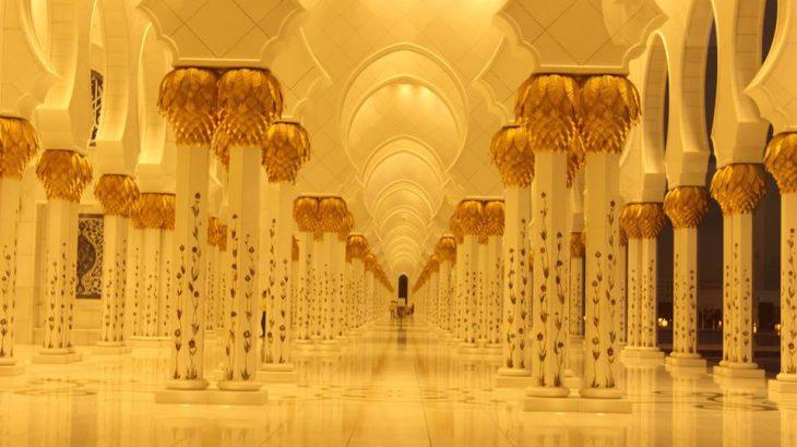 【アブダビでトランジット観光】豪華絢爛シェイクザイードモスク!