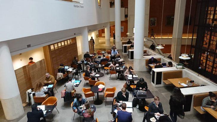【徹底解説】ロンドンのおすすめ無料ノマドスポット「大英図書館」