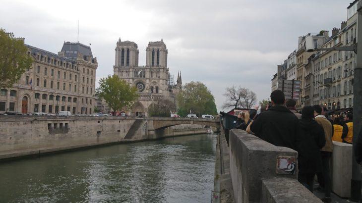 パリ・ノートルダム大聖堂の火災!観光への影響は?【最新現地レポート】