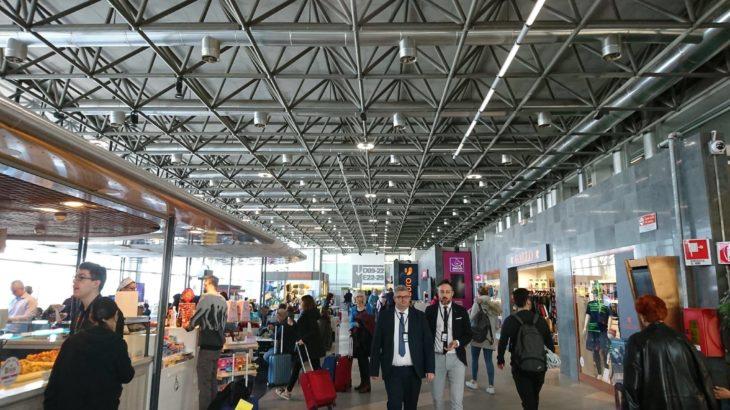 ミラノ・マルペンサ空港第2ターミナルのお土産店・カフェ・Wi-Fi